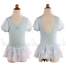 de encaje leotardos para bebés de la danza leotardo con falda