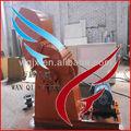 Venda quente qualidade prometida metal triturador / de palmiste triturador shell