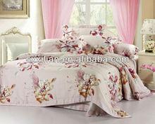 European luxury print 100% tencel bedding set/linen/sheet/duvet cover