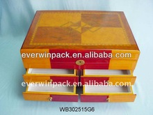 high quality wooden jewelry chest