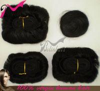 top quality 100% human peruvian bump short sensationnel hair