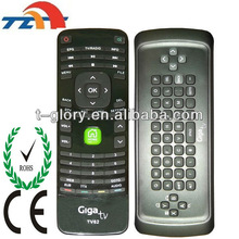 fly mouse 2.4g google box stb rf remote control with bv iso ul