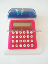 promotional mini desktop calculator