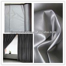 210t waterproof silver coating sheer curtain fabric