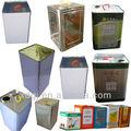 Litro 20 comestibles/de aceite de oliva de la lata puede/barril que hace la máquina
