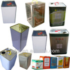 20liter Edible/Olive Oil Tin Can/Barrel Making Machine