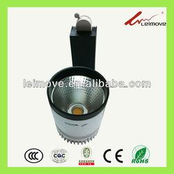 40W high power aluminum LED track light/ COB light with ce&rohs