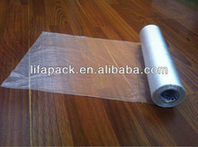 thick clear plastic bags on roll