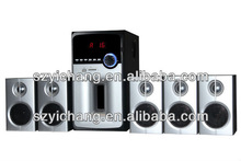 H-5102 Home Theater 5.1 Surround Sound Speaker with USB/SD/FM