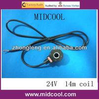 IP68 hydraulic solenoid valve coil 24V