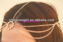 Hair Chain Princess Crystal Head Chain