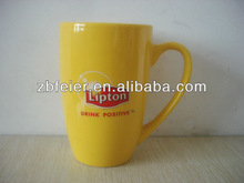 Lipton promotional ceramic yellow mug-17.9% EU unti-duty