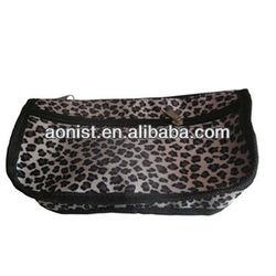 leopard print school pen bag