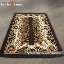 Fashionable printed zebra rugs