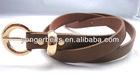 fashion skinny pu lady belt