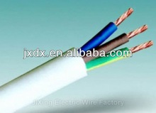3 core electric wire and cable 0.5mm