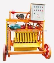 concrete block machine,low price mobile block machine,QMJ4-45 manual block making machine