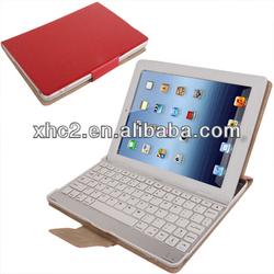 Bluetooth 3.0 Keyboard Leather Case for iPad 4 / iPad 3 / iPad 2