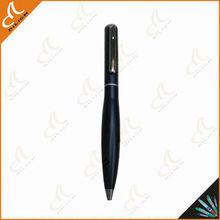 cheap twist metal ballpoint pen with silver clip