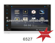 2012 Newest 6.2 inch Universal Car DVD with Radio, RDS, TV, iPOD,SD,USB, steering wheel control, rear view camera input,etc