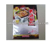 Full print PET/PE Food packaging aluminum plastic bags