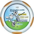 Talking Projector Clock Kick Off Football Wall Clock