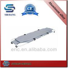 Hot sales!! Aluminum Alloy folding dead body stretcher