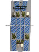 Mens fashion Bavarian crest Suspenders SFSP13M001