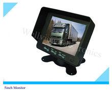 12V~32V Power Input 640*480 5inch Digital HD Car Monitor