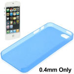 High Quality 0.4mm Ultra Thin Polycarbonate Materials Protection Shell for iPhone 5 (Blue)