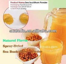 100% natural Seabuckthorn Fruit Juice Powder