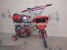 High end steel material baby boy kid bike,race bike,racing bicycle bike bmx with basket rear box