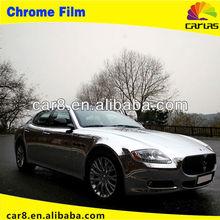Shining Silver Chrome Mirror Vinyl ,Chrome Vinyl Film With Air Channels