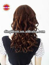 body wave peruvian hair 2012 hot sell in USA and EU 100% wavy natural virgin human hair weft with cheap factory price