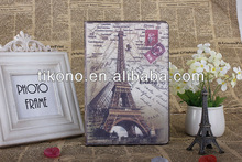 Retro Old Paris LA Tour Eiffel Tower stand pu leather case for ipad mini