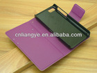 For blackberry z10 case,leather and wallet style