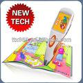 Crianças caneta leitura de toque e livros com jogos interativos sistema de leitura para crianças