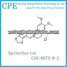 supply Yellow needle crystal 6873-9-2 Epiberberine