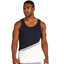 Mens Sleeveless cotton jersey tank top