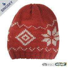 winter knit dobby hat