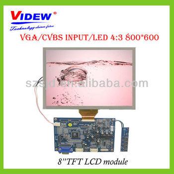 800*3RGB*600 Dots LCD Display Module