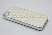 super thin football pattern plating lagging plasitc case for iphone 5