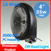 4'' 35w hid 4x4 off road driving fog light,atv,utv hid xenon working lamp 12v