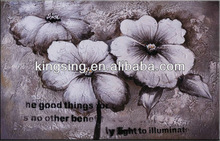 modern flower art oil painting flower groups