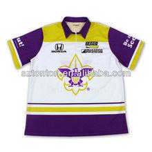 2013 New design racing pit crew shirt