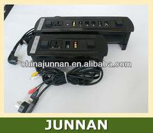 RJ11/Telephone, RJ45/Data, RCA, HDMI, VGA, USB, XLR etc. / Tabletop Hidden Socket