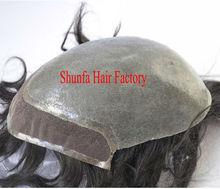 stock thin skin base toupees for men bio base thin skin toupee