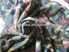 100 polyester desert rotary printed two side brushed one side anti-pilling polar fleece fabric