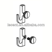 Metal wall art crane hook for home decor hanging system