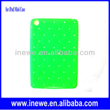 for iPad mini grid patterns silicone case cover